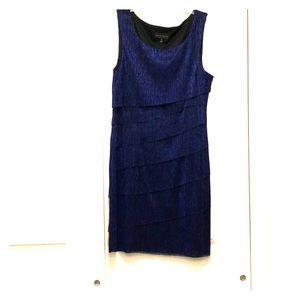 Shimmery blue dress